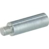 Spacer piece for gas struts