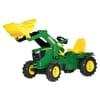 R61110 John Deere 6210R med frontlastare och luftfyllda hjul