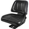 PVC seat, rear mechanical suspension