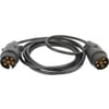 Cable 12-24V/7 pines - 2,8m