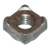 DIN 928 square weld nuts, metric black