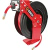 Retractable air/water hose reel