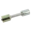 Perskoppeling/pershuls Nr. 8 - 10 Aluminiuml-reduced