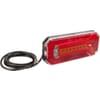 Multifunction rear light LED, rectangular, 12-24V, 236x104x61.5mm, Kramp