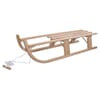 Collapsible wooden sledge