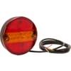 Multifunction rear light LED, round, 12V(integrated resistance), Ø 142mm, Kramp