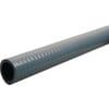 PVC zuig- en persslang grijs met stalen spiraal