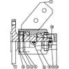 Uloženie diskových brán, 5 otvorov (od 08-1994 do 03-2001) Vario-Disk