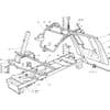 Rahmensatz für Castelgarden TYP F72-F72 Hydro - Baujahr 2002