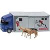 S01942 Mercedes Horsebox with horses