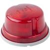 Rear light round, 12/24V, red, bolt on, Hella