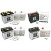 Starter batteries 6/12V (Motorcycle)