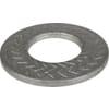 Disc spring serrated dacromet