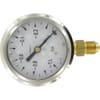 Manometer Anschluss unten 63 mm für Vakuum