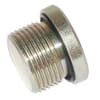 Stainless steel end plug Metric - VS-M…WD-RVS