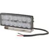 Work light LED, 42W, 3800lm, rectangular, 10/30V, 140.2x41.8x57.2mm, Flood, Kramp