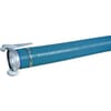 """PVC suction and delivery hose blue/green 8"""" complete with Female/Male connections Italien system type A Anfor"""