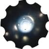 Lautanen, lovitettu, kupera, 460 x 4 mm