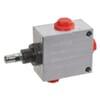 3-way flow control valve type PP