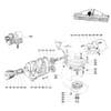Boîte d'engrenages alternative Lelyterra T 44 X