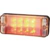 Multifunction rear light LED, rectangular, 12-24V, 107.4x46.7x23mm, Kramp