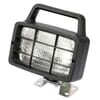 Work light Halogen, 55W, rectangular, 12V, transparent, 185mm, Ajba