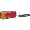 Multifunction rear light LED, rectangular, 12-24V, 200.5x85x40mm, Kramp