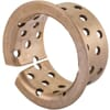 Bearing bush with collar,series BB-BMZL