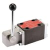 Cetop 03 (NG 6) hand-operated control 4/3 valve KRAMP KREV