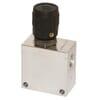 2-way flow control valve type PU