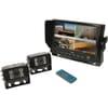 Colour kit Quad Monitor 2 Cameras CabCam