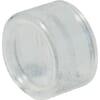 Rubber protective caps, transparent