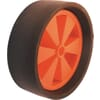 Wheel 255x95 solid rubber tyre