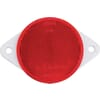 Round reflector, red, self-adhesive, Kramp/gopart