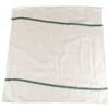 Rag with green line