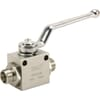 Ball valve metric thread KHS..LGP