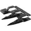 Guidance triple finger, 12mm, black, suitable for John Deere