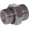 +Male stud coupling less nut with seal GES-BSP-WD
