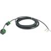 Valve connector cable set _