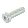 DIN 7984 flat cylinder bolts with hexagon socket, metric 8.8 zinc-plated