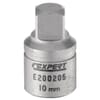 """Special sockets for changing oil, 3/8"""" outer square"""