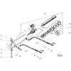 05 Vérin hydraulique pour réglage de largeur du premier sillon HRT, HRS, HRSD