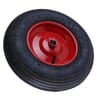 "Pneumatic wheel 16""x4"" with plain bore, 25mm"