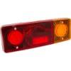 Multifunction rear RH light LED, rectangular, 12-24V, 287.5x100.5x65mm, 5-pin, Kramp