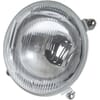 Headlight Halogen, round, 12/24V, transparent, Ø 139mm, Hella