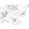 Schneidwerkzeug - Antrieb - Mähdeck für Castelgarden TYP 102-122 - Baujahr 1996