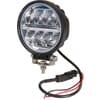 Work light LED, 24W, 2272lm, round, 9-36V, Ø 128mm Deutsch plug, Wide flood, 16 LED's, Kramp