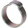 Hose clamp with 1 pinch ear
