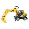 U02445 CAT Wheeled excavator