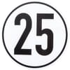 Vehicle speed sign - PVC